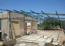 פירוק גג מחסן אסבסט