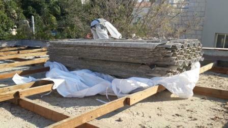 פינוי אסבסט בתל אביב